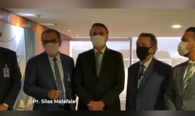 Líderes evangélicos se reúnem com Bolsonaro e declaram Jejum pela Nação