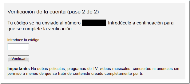 youtube subir vídeos 15 minutos