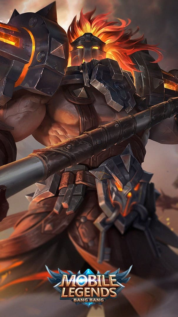 Wallpaper Terizla Flare Skin Mobile Legends HD for Android and iOS
