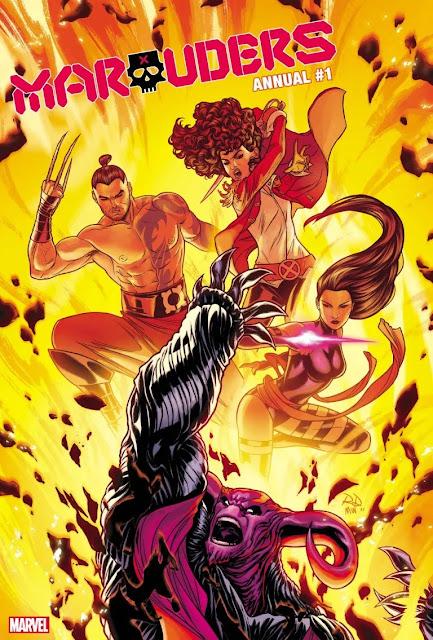Marvel revela 'Marauders Annual' # 1 para enero de 2022.