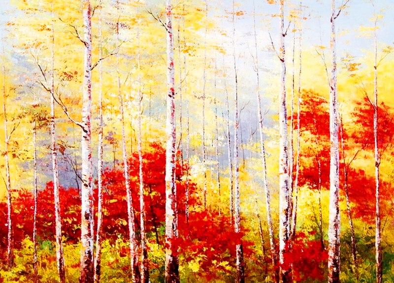 Imágenes Arte Pinturas Cuadros De Paisajes Fáciles Para Pintar Al óleo