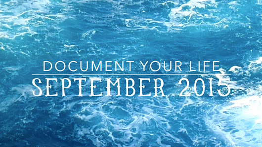 Jodie In Melbourne: Document Your Life: September 2015.