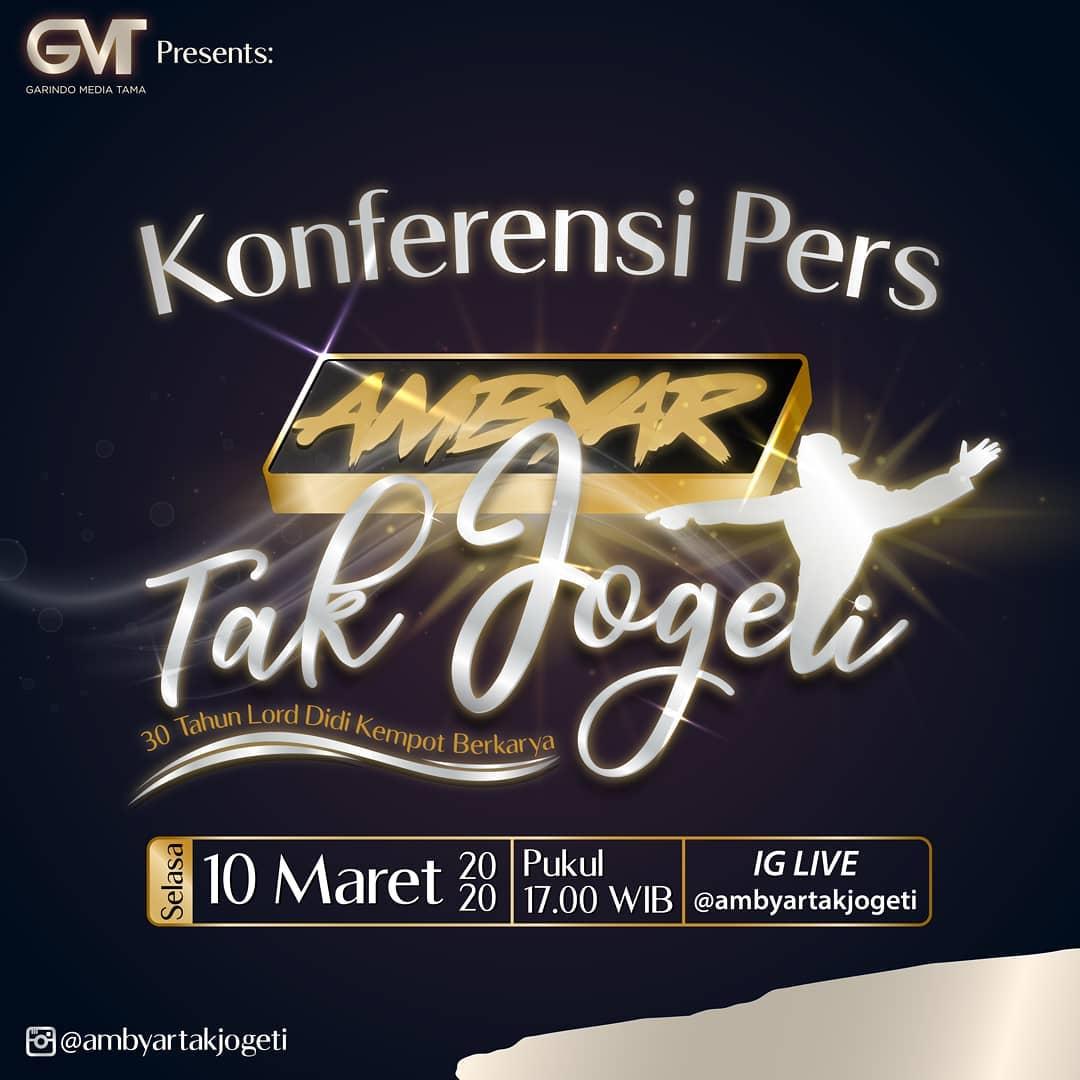 Konser Didi Kempot Ambyar Tak Jogeti Gbk Jakarta Promotion Your