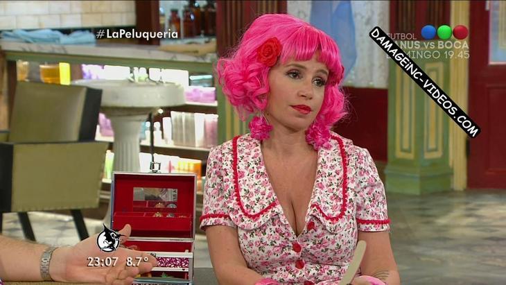 Florencia Peña big natural tits cleavage damageinc videos HD