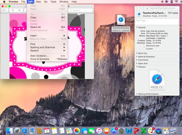 Custom Icons inOS X tutorial edtech technology Apple