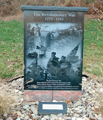 Captain Leon Lock Veterans Memorial at Hampden Township Veterans Park - The Revolutionary War