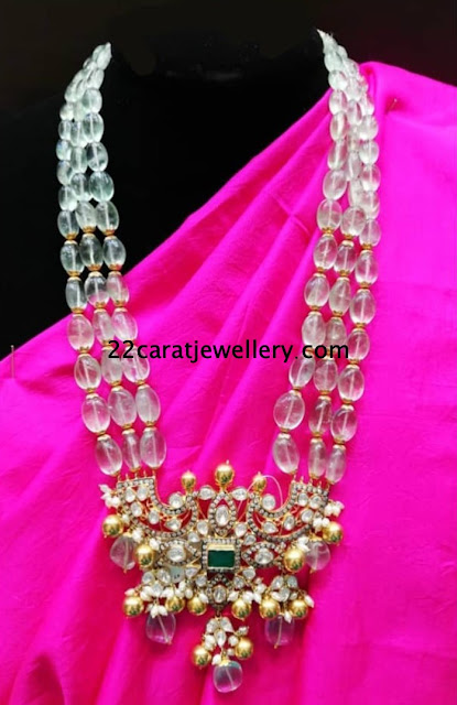 Beads and Pearls long Chains by Mor Jewels