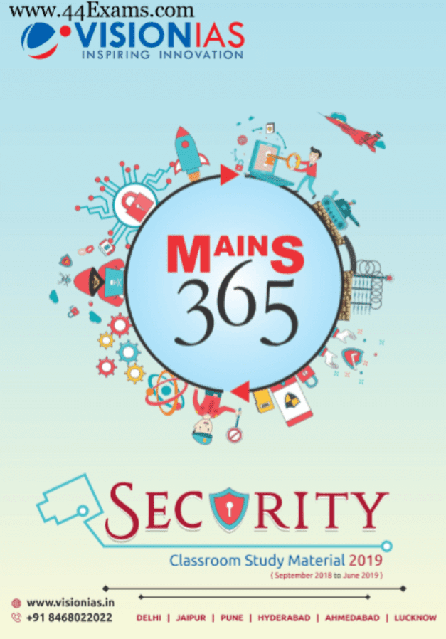 Vision-IAS-Security-Class-Study-Material-2019-For-UPSC-Exam-PDF-Book