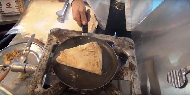 Περέκ με τυρί στο τηγάνι (Video)
