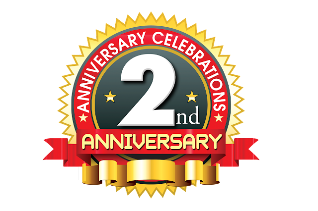 2nd-anniversary-vector-logo-template-with-red-ribbon-psdfiles.in