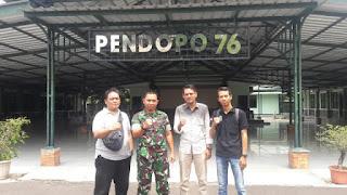 IWO Cirebon Siap Bersinergi Dengan TNI Di Bidang Sosial