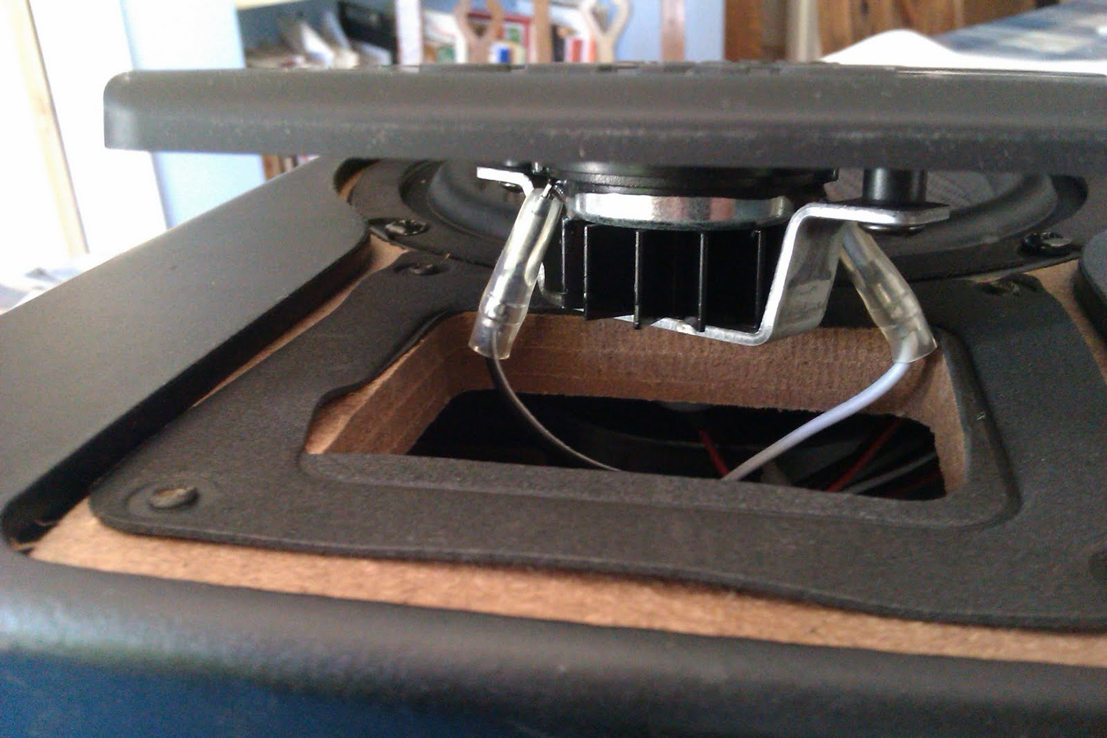 mending things: Mending a pair of M-AUDIO BX5a monitors on
