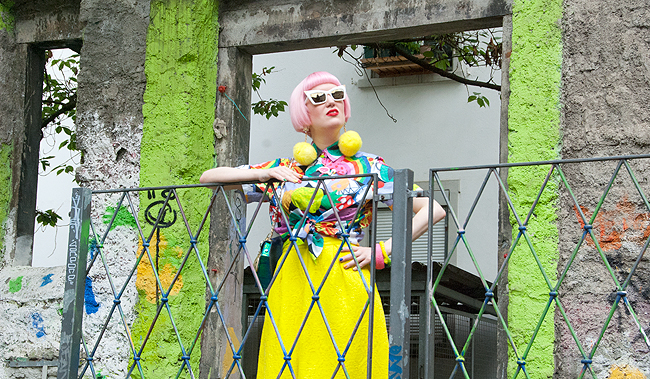 colourful style, fashion blogger, quirky look