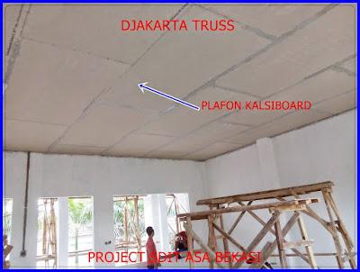 Proyek Plafon GRC SDIT ASA Djakarta Truss