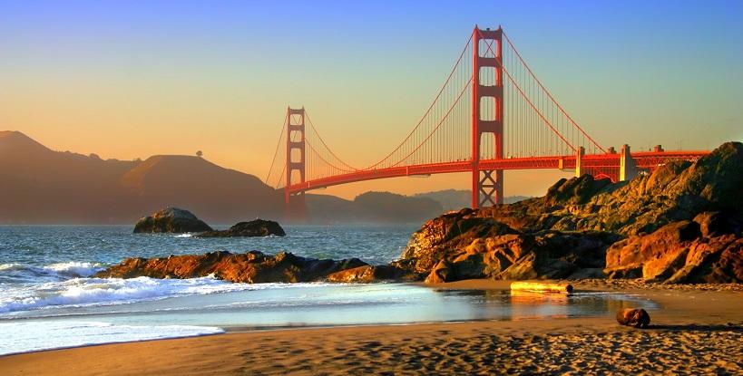 Condições climáticas no mês de julho em San Francisco