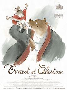 Ernest et Célestine dessin animé poétique 4 ans