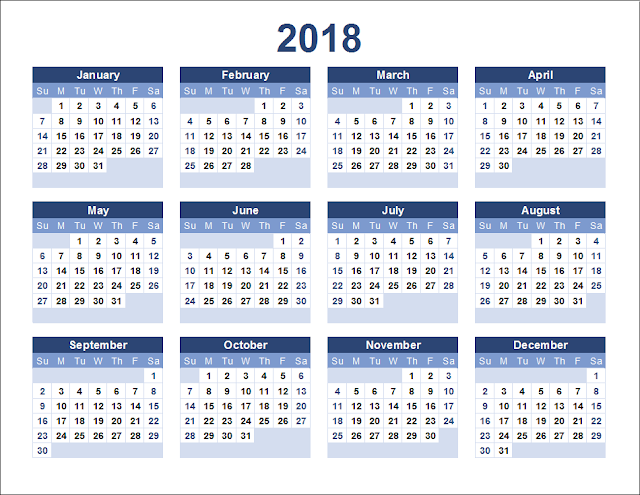Printable calendar 2018, free printable calendar 2018, 2018 calendar template,editable calendar 2018,Yearly calendar 2018, 2018 calendar PDF, 2017 and 2018 Calendar Printable, Monthly calendar 2018