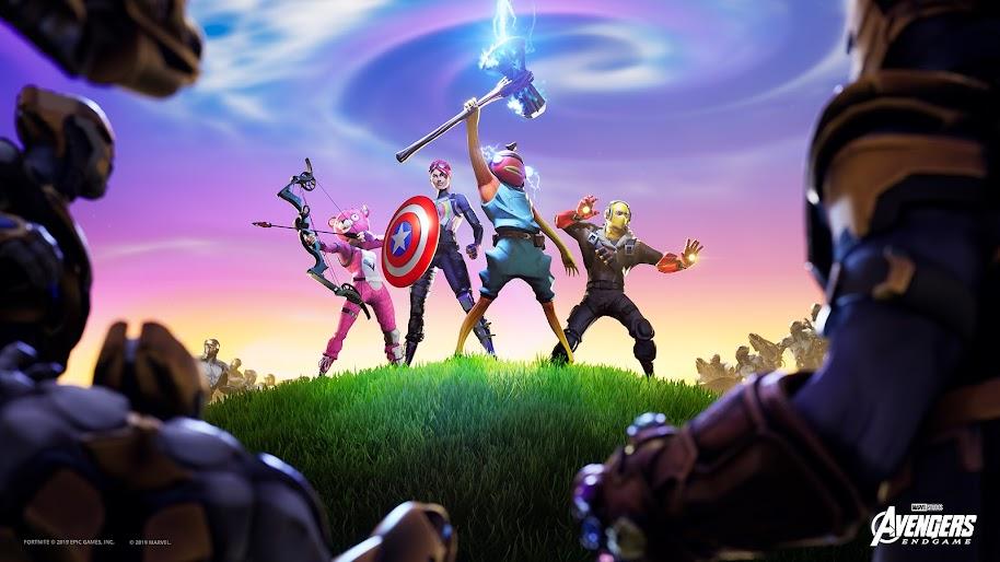 Fortnite X Avengers Stormbreaker 4k Wallpaper 185