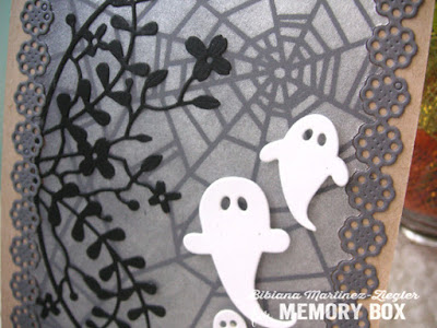 Halloween Card detail