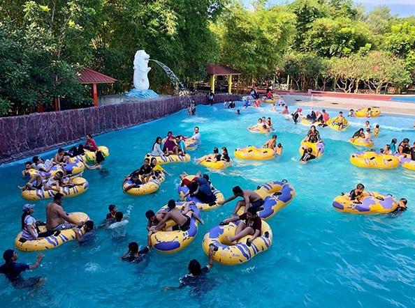 Singapore Land Waterpark, Objek Wisata Keluarga Terbaik Di Batubara Sumut