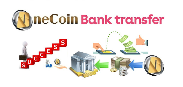 OneCoin Bank Transfer
