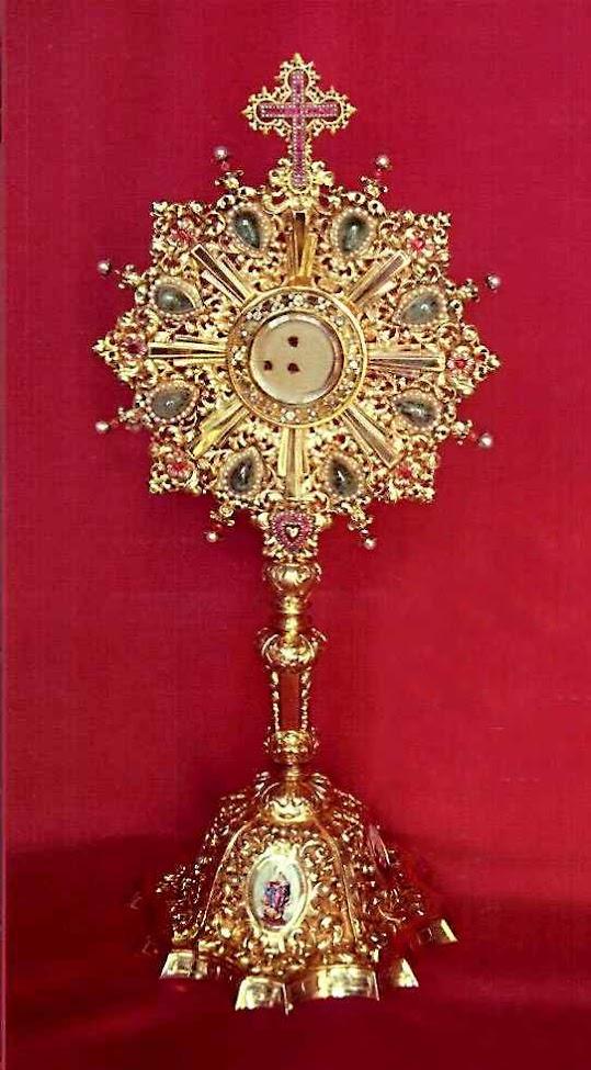 Milagre eucarístico de Gorkum, custodiado no El Escorial
