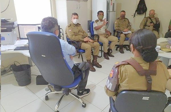 Polícia Militar e Civil alinham estratégias para combater violência em Juazeiro (BA) - Portal Spy Noticias Juazeiro Petrolina