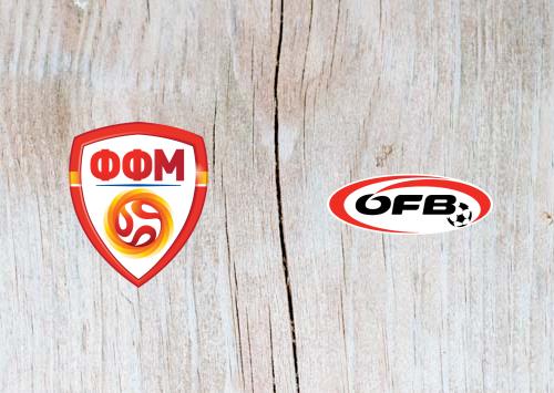 North Macedonia vs Austria - Highlights 10 June 2019