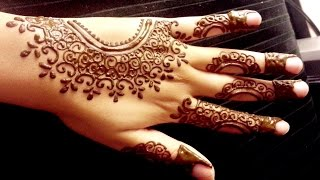 Henna Wedding Simple