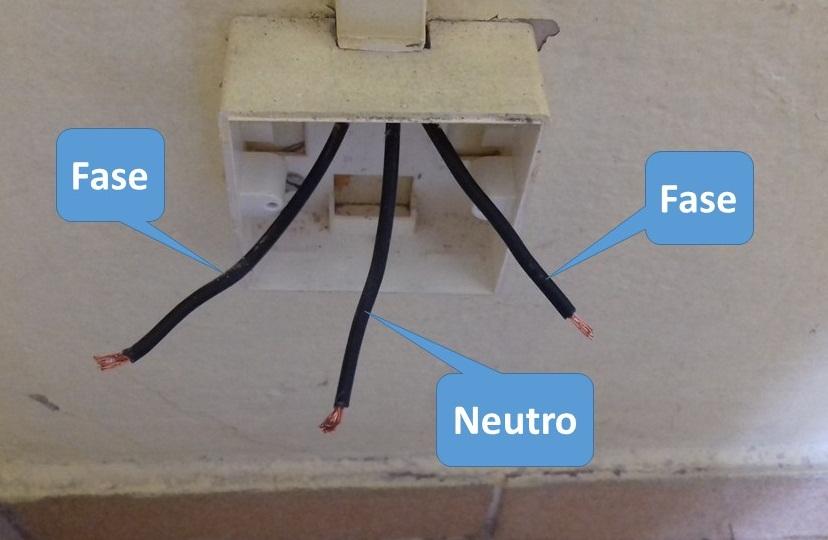 Dicas em eletricidade como saber se um fio fase ou neutro for Colori fase e neutro