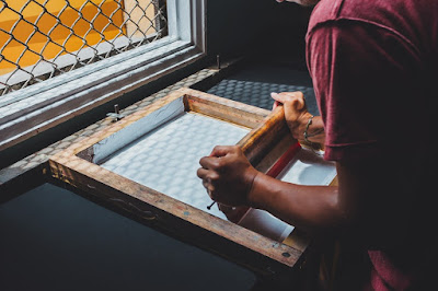 Screen Printing Process In Printing Business Opportunities