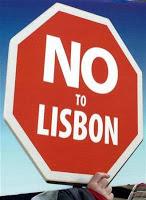 trattato di lisbona, proteste, cartello
