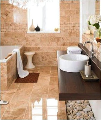 Cappuccino Marble Bathroom Ideas