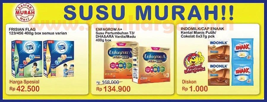 Promo Indomaret Heboh 10 - 16 Maret 2021 Susu  Murah