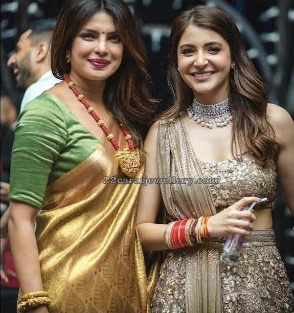 Priyanka Chopra Anushka Sharma Jewellery