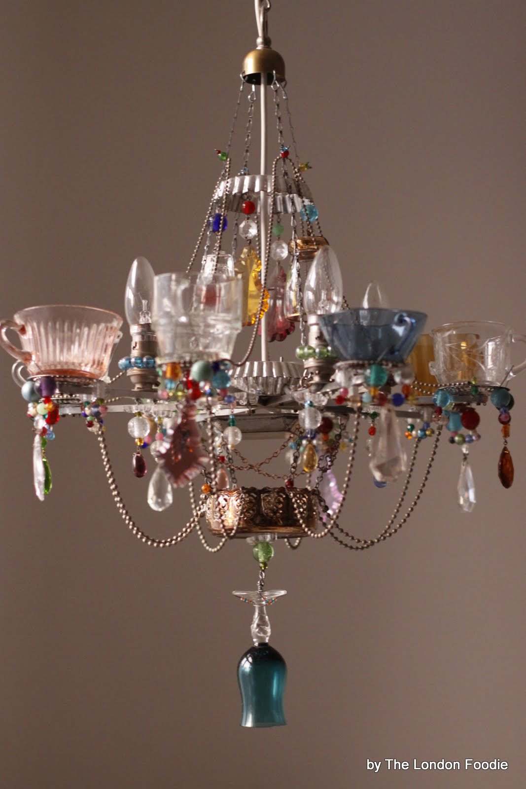 The London Foodie The Fantastic Teacup Chandeliers by