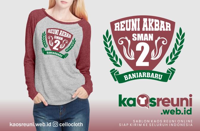 Contoh Desain Kaos Reuni Akbar Model Logo Warna Kata Kata SD SMP SMA