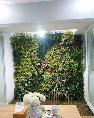 taman vertikal-garden style
