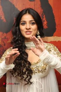 Telugu Actress Mahima Makwana Stills in White Desginer Dress at Venkatapuram Movie Logo Launch  0085.JPG