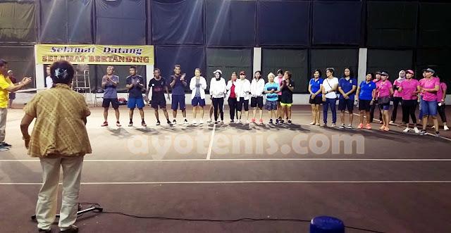 M Noor Iman/Donny Collin Juara Kejuaraan Tenis Veteran HUT Ibu Taniya Nanette Rudianto ke-78