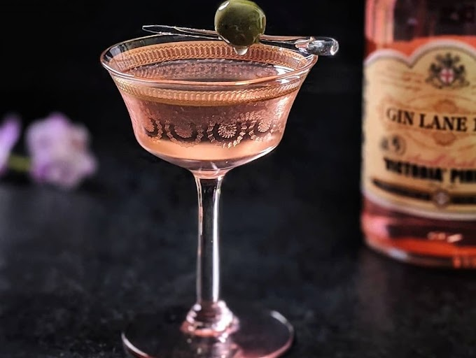 Victoria Pink Gin Cocktail