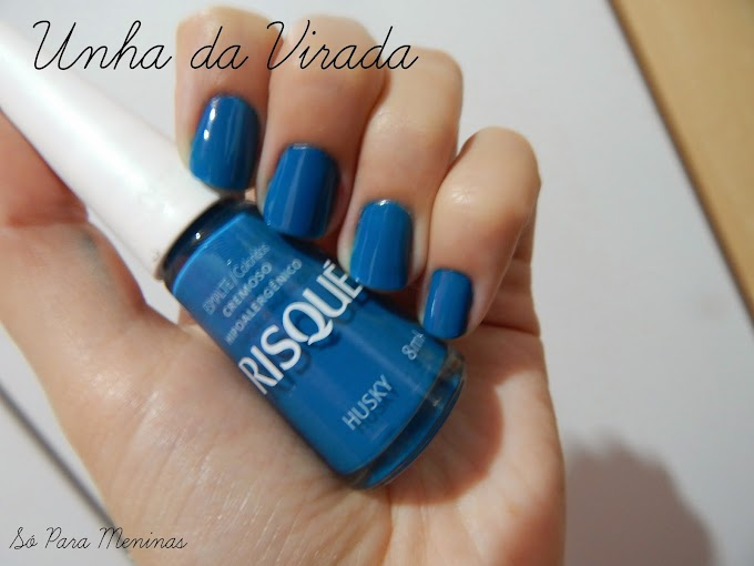 Esmalte da Virada ;D || Último post do ano lol