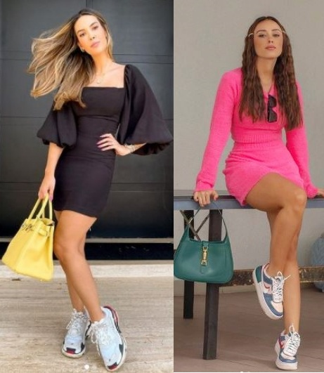 6 Calçados tendência 2021, dad sneaker Gio Morete, Agatha Braga