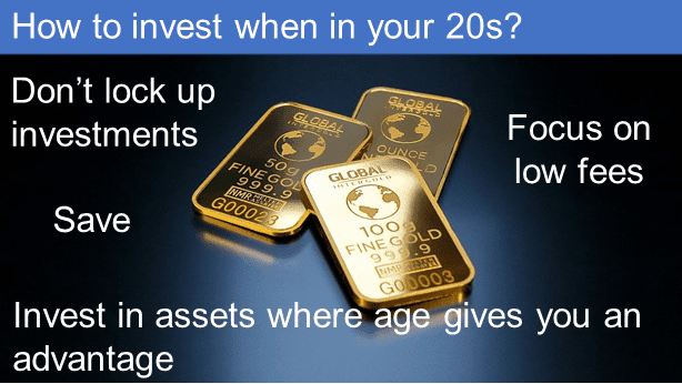 How to invest when in your 20s