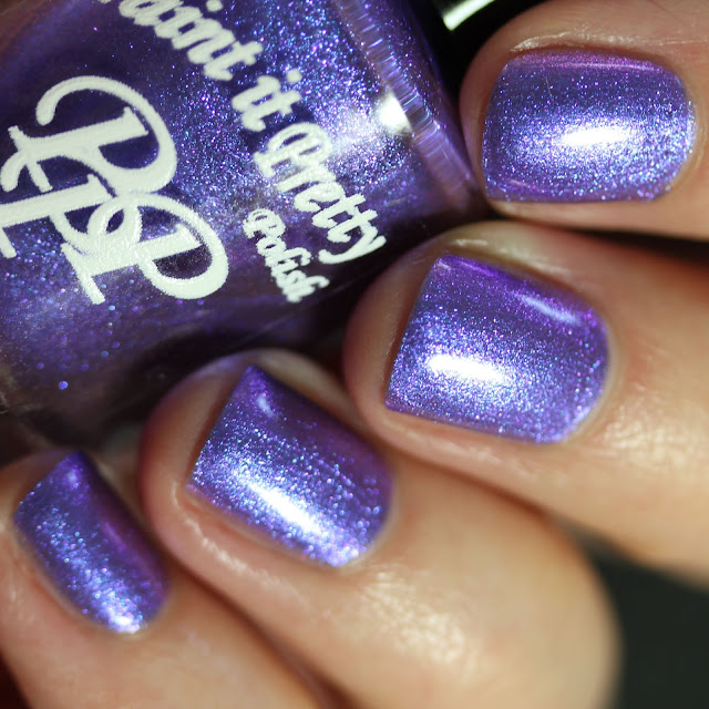 Paint It Pretty Polish Shift Is Getting Real swatch pastel purple multichrome polish
