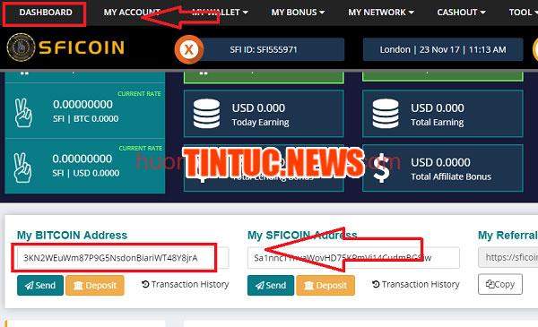 Sficoin là gì? Review Sficoin và hướng dẫn đăng ký mua token Sficoin