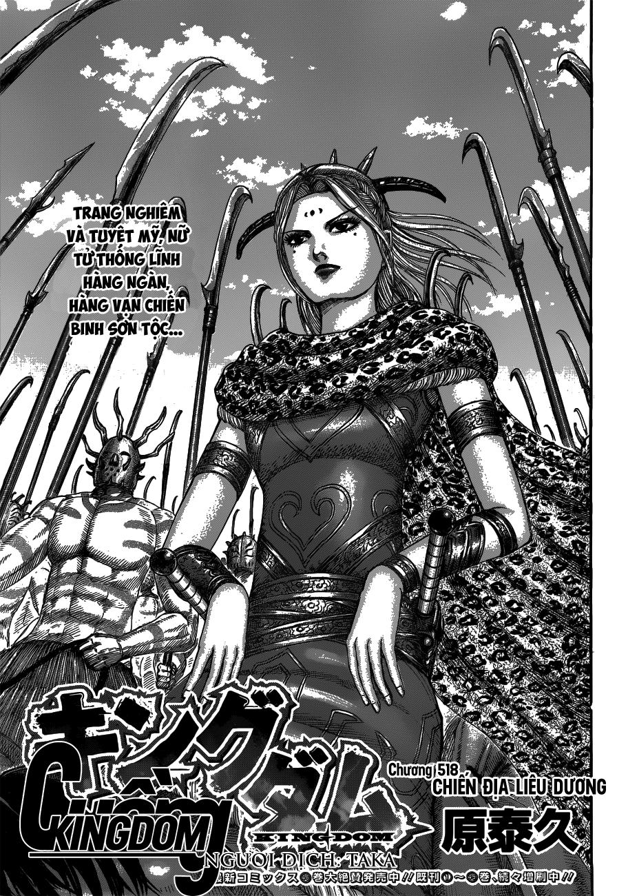 Kingdom chapter 518: chiến địa liêu dương trang 2