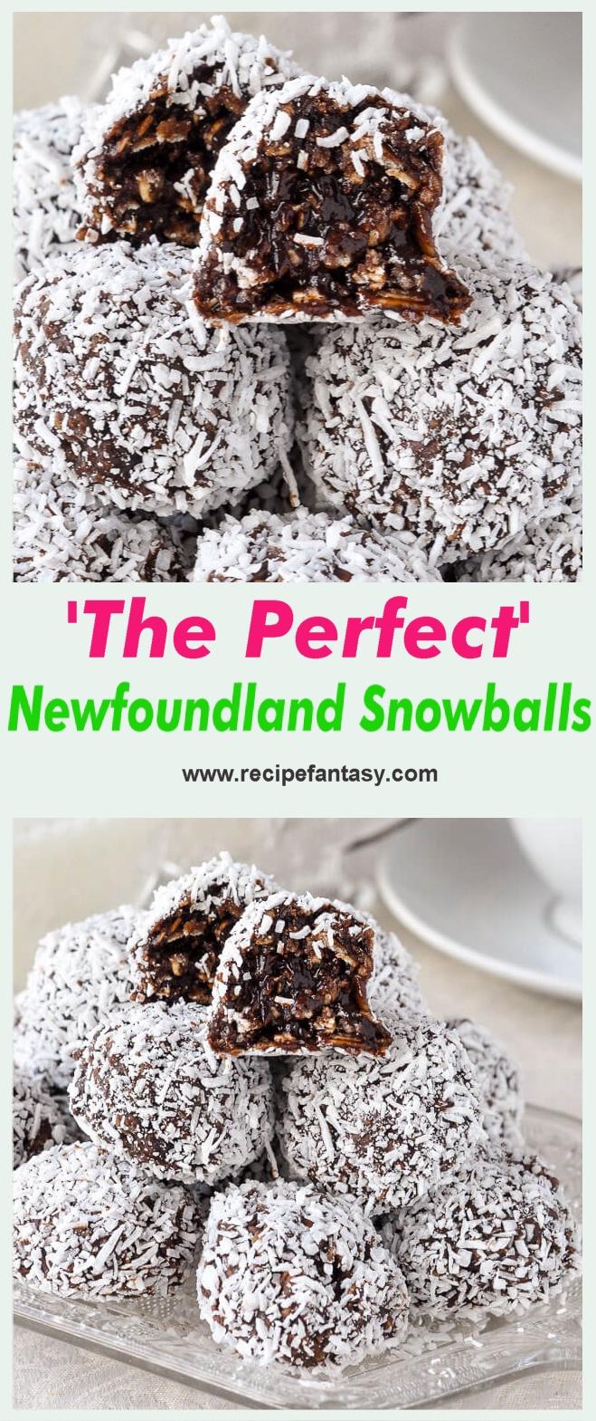 The Perfect Newfoundland Snowballs Recipe