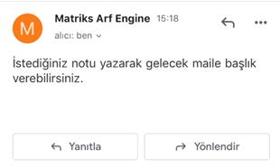 Matriks Web Trader Alarm Bildirimi