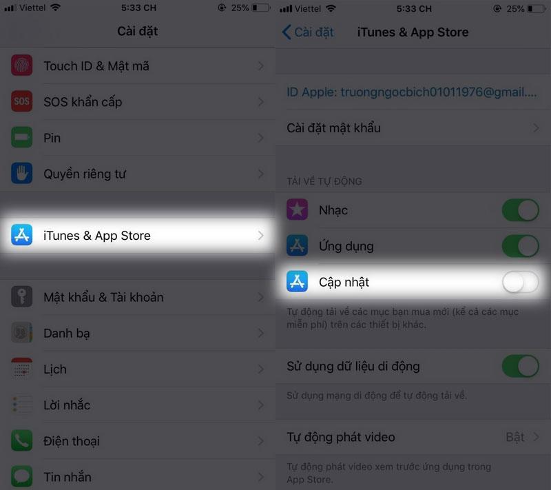 Hướng dẫn cách hiệu chỉnh phần hiển thị pin iphone